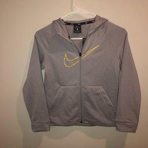 Nike Dri-Fit Gray boys Sweatshirt Jacket
